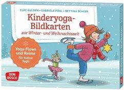 Kinderyoga-Bildkarten zur Winter- und Weihnachtszeit - Gulden, Elke; Pohl, Gabriele; Scheer, Bettina