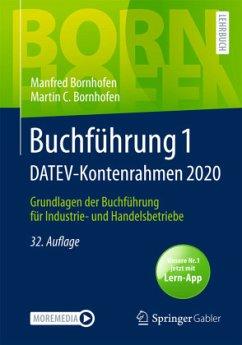 Buchführung 1 DATEV-Kontenrahmen 2020 - Bornhofen, Manfred;Bornhofen, Martin C.