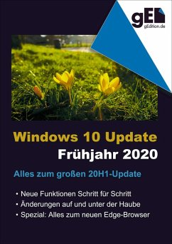 Windows 10 Update - Frühjahr 2020 (eBook, ePUB) - Gieseke, Wolfram