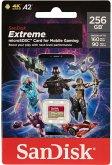 SanDisk Extreme microSD 256GB Mobile Gaming SDSQXA1-256G-GN6GN