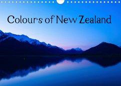 Colours of New Zealand (Wall Calendar 2021 DIN A4 Landscape)