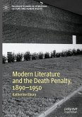 Modern Literature and the Death Penalty, 1890-1950