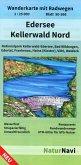 NaturNavi Wanderkarte mit Radwegen Edersee - Kellerwald Nord