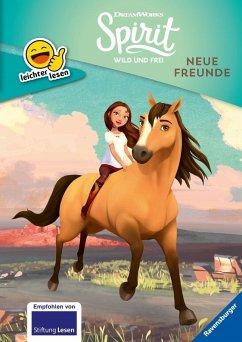 Dreamworks Spirit Wild und Frei: Neue Freunde / leichter lesen Bd.5 (Mängelexemplar)