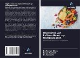 Implicatie van kaliumnitraat op fruitgewassen