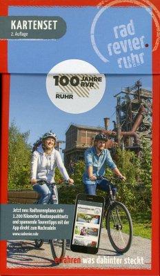 Kartenset Radrevier Ruhr, m. 5 Karten