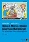 Täglich 5 Minuten Training: Schriftliche Multiplikation