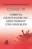 Corona-Gesetzgebung - Gesundheit und Soziales