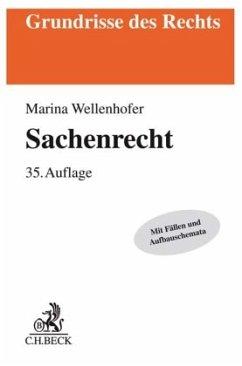 Sachenrecht - Wellenhofer, Marina