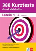 Klett 380 Kurztests Latein 1.-4. Lernjahr (eBook, PDF)