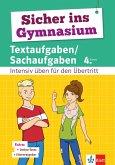 Klett Sicher ins Gymnasium Textaufgaben/Sachaufgaben 4. Klasse (eBook, PDF)