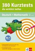 Klett 380 Kurztests, die wirklich helfen - Deutsch und Mathematik 2. Klasse (eBook, PDF)