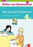 Klett Sicher ins Gymnasium Alle Grundrechenarten 4. Klasse (eBook, PDF)