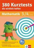 Klett 380 Kurztests, die wirklich helfen Mathematik 3./4. Klasse (eBook, PDF)