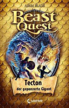 Beast Quest 59 - Tecton, der gepanzerte Gigant (eBook, ePUB) - Blade, Adam