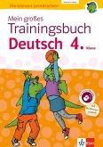 Klett Mein großes Trainingsbuch Deutsch 4. Klasse (eBook, PDF)