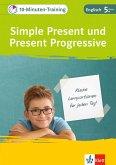 Klett 10-Minuten-Training Englisch Grammatik Simple Present und Present Progressive 5. Klasse (eBook, PDF)