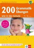 Klett 200 Grammatik-Übungen wie in der Schule (eBook, PDF)