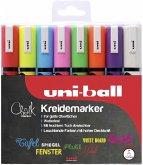 uni-ball Kreidemarker Chalk PWE-5M 8er Set
