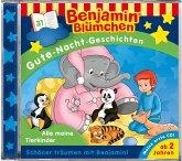 Benjamin Blümchen, Gute-Nacht-Geschichten - Alle meine Tierkinder, 1 Audio-CD