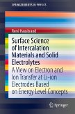 Surface Science of Intercalation Materials and Solid Electrolytes