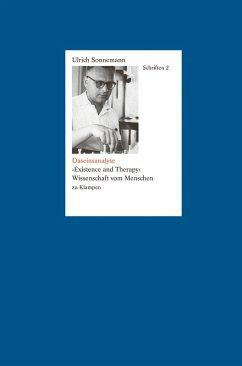 Schriften / Daseinsanalyse. Schriften 2 (eBook, PDF) - Sonnemann, Ulrich
