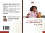 De l'effectivité des droits des filles à l'éducation au Kasai Central