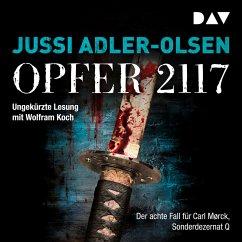 Opfer 2117 / Carl Mørck. Sonderdezernat Q Bd.8 (MP3-Download) - Adler-Olsen, Jussi