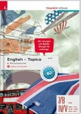 English Topics - Wortschatztrainer + digitales Zusatzpaket