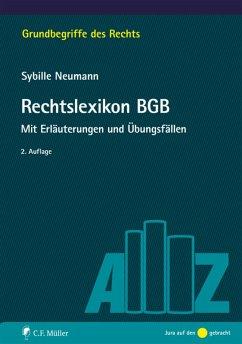 Rechtslexikon BGB (eBook, ePUB) - Neumann, Sybille