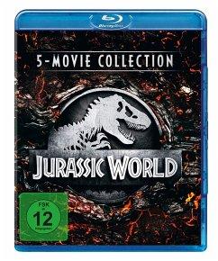 Jurassic World - 5-Movie Collection BLU-RAY Box - Sam Neill,Jeff Goldblum,Laura Dern