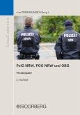 PolG NRW, POG NRW und OBG (eBook, PDF)