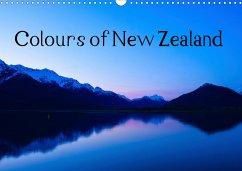 Colours of New Zealand (Wall Calendar 2021 DIN A3 Landscape)