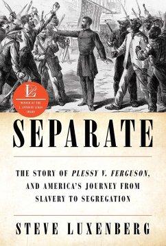 Separate: The Story of Plessy v. Ferguson, and America's Journey from Slavery to Segregation (eBook, ePUB) - Luxenberg, Steve