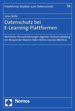 Datenschutz bei E-Learning-Plattformen (eBook, PDF) - Botta, Jonas