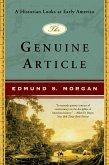 The Genuine Article: A Historian Looks at Early America (eBook, ePUB)