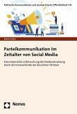 Parteikommunikation im Zeitalter von Social Media (eBook, PDF)