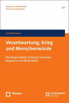 Verantwortung, Krieg und Menschenwürde (eBook, PDF) - Sturm, Cornelius
