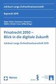 Privatrecht 2050 - Blick in die digitale Zukunft (eBook, PDF)