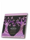 Malblock für Erwachsene mit CD: Gartenzauber