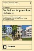 Die Business Judgment Rule im Prozess (eBook, PDF)
