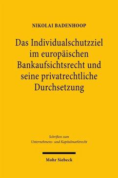 Europäische Bankenregulierung und private Haftung (eBook, PDF) - Badenhoop, Nikolai
