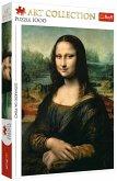 Trefl 10542 - Leonardo da Vinci, Mona Lisa, Puzzle, 1000 Teile