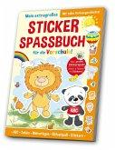 Stickerspaßbuch Vorschule