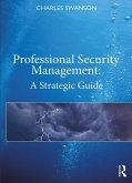 Professional Security Management (eBook, ePUB)