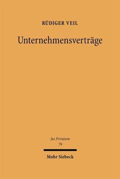 Unternehmensverträge (eBook, PDF) - Veil, Rüdiger