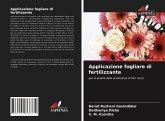 Applicazione fogliare di fertilizzante