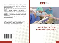 Anesthésie hors bloc opératoire en pédiatrie - Ihssan, Mehrez