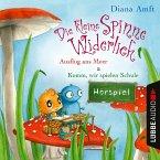 Die kleine Spinne Widerlich - 2 Geschichten - Ausflug ans Meer & Komm, wir spielen Schule (MP3-Download)