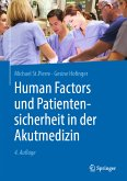 Human Factors und Patientensicherheit in der Akutmedizin (eBook, PDF)